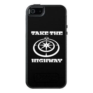 Coque OtterBox iPhone 5, 5s Et SE Prenez le cas de téléphone de route