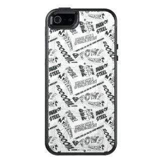 Coque OtterBox iPhone 5, 5s Et SE Prisonnier de guerre noir et blanc !