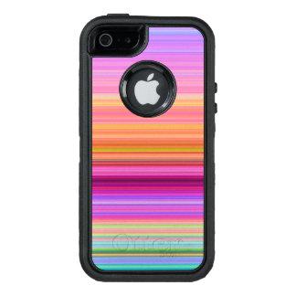 Coque OtterBox iPhone 5, 5s Et SE Rayures de lever de soleil