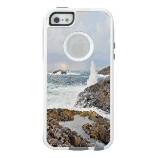 Coque OtterBox iPhone 5, 5s Et SE Ressacs après une tempête dans bleu et gris