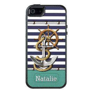 Coque OtterBox iPhone 5, 5s Et SE Rétro ancre de bateau de motif fait sur commande