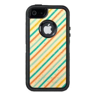 Coque OtterBox iPhone 5, 5s Et SE Rétro motif rayé grunge