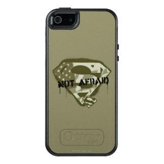 Coque OtterBox iPhone 5, 5s Et SE S-Bouclier | de Superman non effrayé - logo des