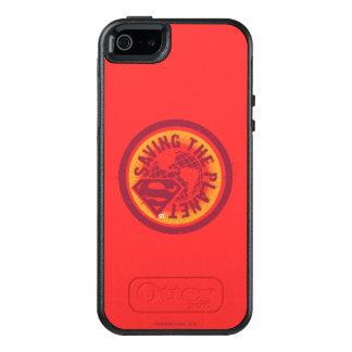 Coque OtterBox iPhone 5, 5s Et SE Sauvegarde du cercle de rouge de planète