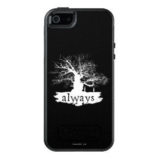 Coque OtterBox iPhone 5, 5s Et SE Silhouette de citation du charme | de Harry Potter