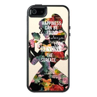 Coque OtterBox iPhone 5, 5s Et SE Silhouette florale de belle de la princesse  