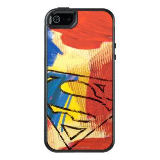 Coque OtterBox iPhone 5, 5s Et SE Superman a peint le logo