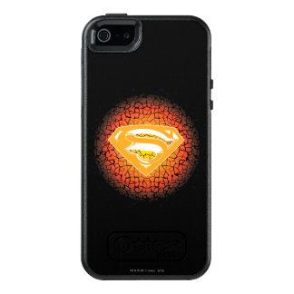Coque OtterBox iPhone 5, 5s Et SE Superman a stylisé le logo de craquement de  