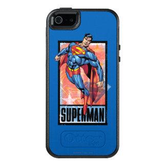 Coque OtterBox iPhone 5, 5s Et SE Superman avec la frontière foncée