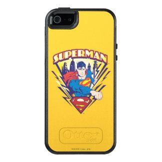 Coque OtterBox iPhone 5, 5s Et SE Superman avec l'électricité