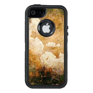 Coque OtterBox iPhone 5, 5s Et SE texture vintage florale grunge d'arrière - plan