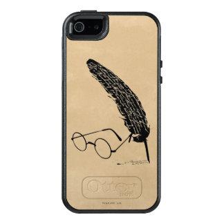 Coque OtterBox iPhone 5, 5s Et SE Verres et cannette de Harry Potter |