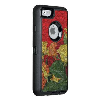 Coque OtterBox iPhone 6/6s Abrégé sur floral rouge vert jaune