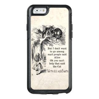 Coque OtterBox iPhone 6/6s Alice au pays des merveilles ; Chat de Cheshire