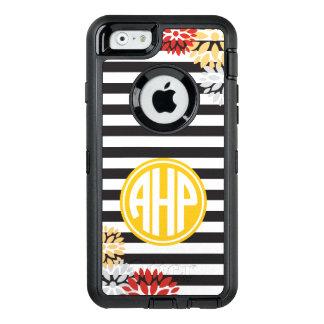 Coque OtterBox iPhone 6/6s Alpha motif de rayure de monogramme du Rho | d'Eta