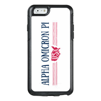 Coque OtterBox iPhone 6/6s Alpha Omicron pi Etats-Unis