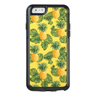 Coque OtterBox iPhone 6/6s Ananas et feuille tropical sur l'or