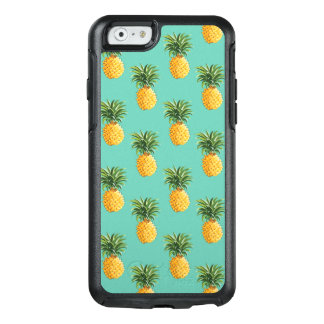 Coque OtterBox iPhone 6/6s Ananas tropicaux sur Teal