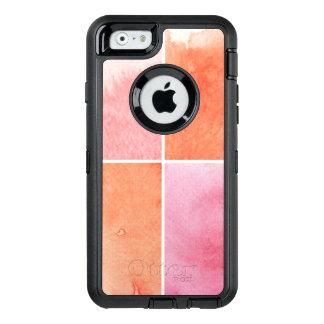 Coque OtterBox iPhone 6/6s aquarelle colorée