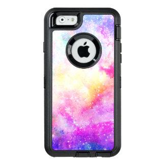 Coque OtterBox iPhone 6/6s Aquarelle peinte à la main de nébuleuse en pastel
