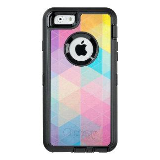 Coque OtterBox iPhone 6/6s Arrière - plan abstrait coloré de triangles