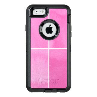 Coque OtterBox iPhone 6/6s arrière - plan coloré d'aquarelle pour vos 2 3