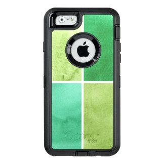 Coque OtterBox iPhone 6/6s arrière - plan coloré d'aquarelle pour vos 6