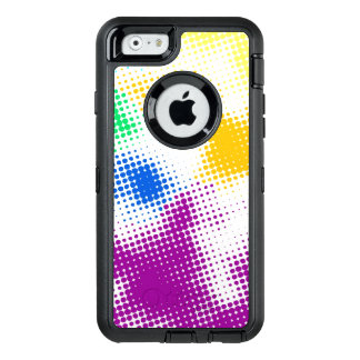 Coque OtterBox iPhone 6/6s Arrière - plan coloré tramé aléatoire
