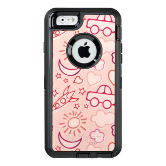 Coque OtterBox iPhone 6/6s arrière - plan de jouet