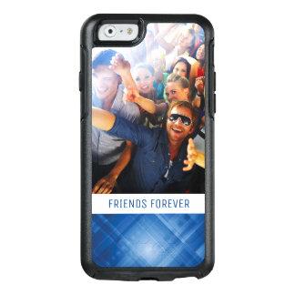 Coque OtterBox iPhone 6/6s Arrière - plan de pointe bleu-foncé fait sur