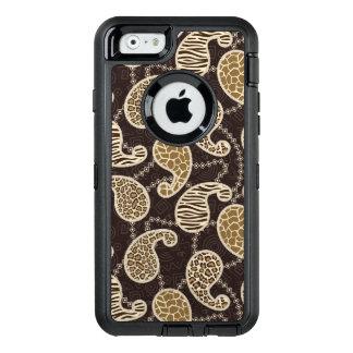 Coque OtterBox iPhone 6/6s Arrière - plan de style de Paisley