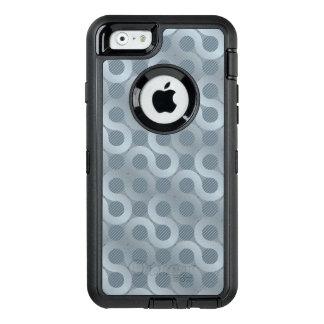 Coque OtterBox iPhone 6/6s Arrière - plan gris abstrait d'écoulement