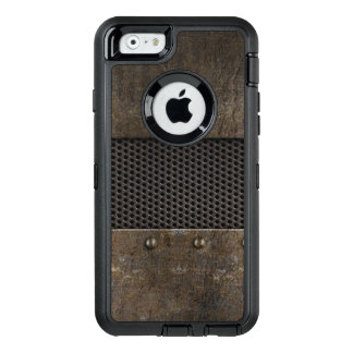 Coque OtterBox iPhone 6/6s Arrière - plan grunge en métal