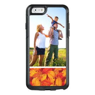 Coque OtterBox iPhone 6/6s Arrière - plan humide de feuille tombé par photo