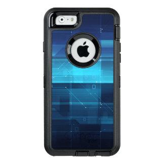 Coque OtterBox iPhone 6/6s Arrière - plan numérique de pointe