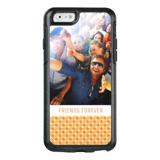 Coque OtterBox iPhone 6/6s Arrière - plan orange ensoleillé fait sur commande