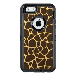 Coque OtterBox iPhone 6/6s Arrière - plan repéré par girafe