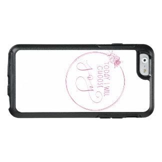 Coque OtterBox iPhone 6/6s Aujourd'hui je choisirai la caisse florale de