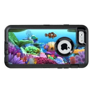Coque OtterBox iPhone 6/6s Beau bonheur de corail pour Iphones
