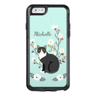 Coque OtterBox iPhone 6/6s Bel iPhone de chat de smoking 6 séries de symétrie