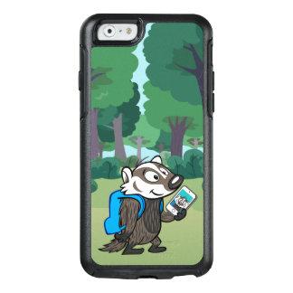 Coque OtterBox iPhone 6/6s Blaireau Selfie de boomer du raton laveur   de