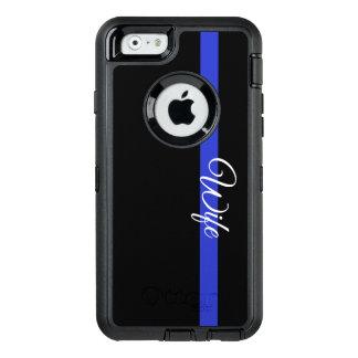 Coque OtterBox iPhone 6/6s Blue Line mince : Épouse Otterbox Iphone 6/6s C de