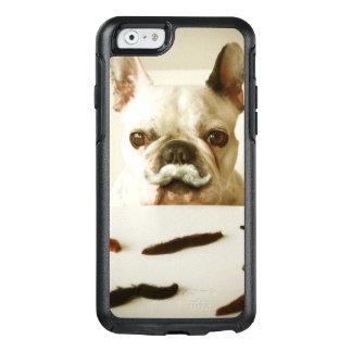 Coque OtterBox iPhone 6/6s Bouledogue français avec une moustache