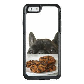Coque OtterBox iPhone 6/6s Bouledogue français Brindle noir