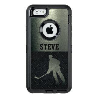 Coque OtterBox iPhone 6/6s Caisse rocailleuse de plat de diamant de nom