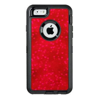 Coque OtterBox iPhone 6/6s Caisse rouge de série de défenseur de l'iPhone