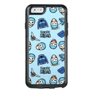 Coque OtterBox iPhone 6/6s Capitaine Boomerang Emoji Pattern du peloton   de