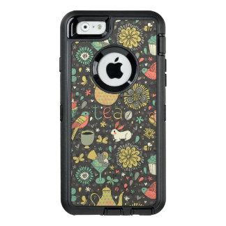 Coque OtterBox iPhone 6/6s Carte lumineuse savoureuse de thé