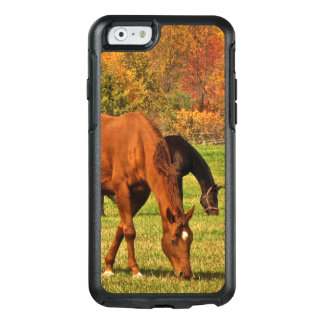 Coque OtterBox iPhone 6/6s Cas de l'iPhone 6/6s d'OtterBox de chevaux