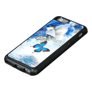 Coque OtterBox iPhone 6/6s Cas de l'iPhone 6 d'OtterBox de fleurs et de